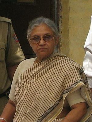 Sheila Dikshit - Image: Sheila Dikshit Chief Minister of Delhi India 2