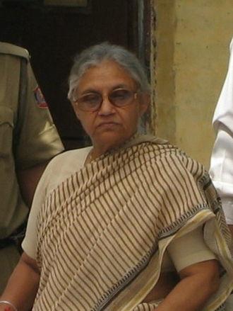 Sheila Dikshit - Image: Sheila Dikshit Chief Minister of Delhi India 2