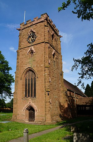 Sheldon, West Midlands - Image: Sheldon St Giles church