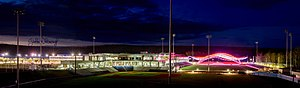 Shell Place - Shell Place and SMS Stadium at MacDonald Island in Fort McMurray