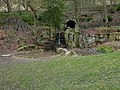 Shibden Park, Halifax, Waterfall - geograph.org.uk - 1804070.jpg
