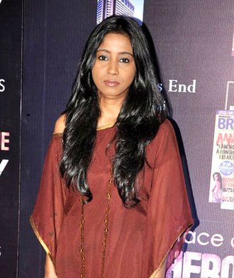 Shilpa Rao - Rao at the Hindustan Timess Brunch Dialogues, 2012