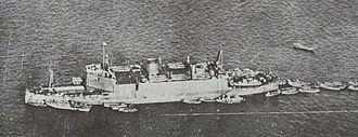 Japanese amphibious assault ship Shinshū Maru - Image: Shinshu Maru 1938