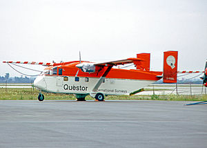 Short SC.7 Skyvan - Skyvan 3 converted for survey work by Questor Surveys