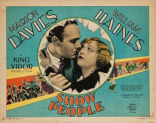 <i>Show People</i> 1928 film by King Vidor