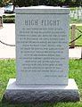 Shuttle Challenger - rear - Arlington National Cemetery - 2011.JPG