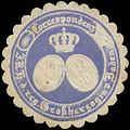 Siegelmarke Correspondenz i.K. Hoheit d. reg. Grossherzogin von Baden W0385364.jpg