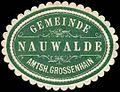 Siegelmarke Gemeinde Nauwalde - Amtshauptmannschaft Grossenhain W0252882.jpg
