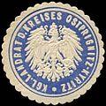 Siegelmarke Königlicher Landrat des Kreises Ostprignitz - Kyritz W0239803.jpg
