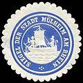 Siegelmarke Siegel der Stadt Mülheim am Rhein W0235593.jpg