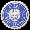 Siegelmarke Stadt Radevormwald W0310302.jpg