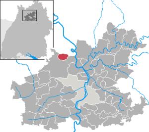 Siegelsbach - Image: Siegelsbach in HN