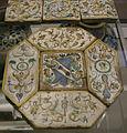 Siena, mattonele pavimentali forse da palazzo marsili, 1600-20 ca. 01.JPG