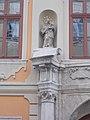 Sigray Palace, statue, Uri Street, 2017 Varkerulet.jpg