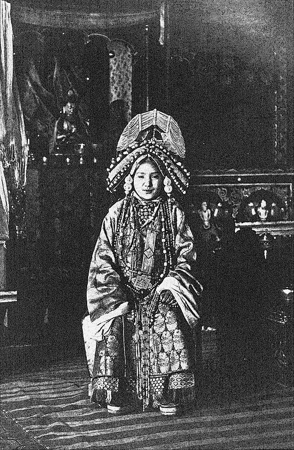 Sikhim and Bhutan - Maharani of Sikhim.jpg