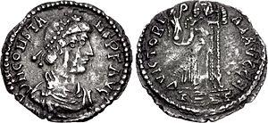 Constans II (usurper) - Siliqua of Constans II