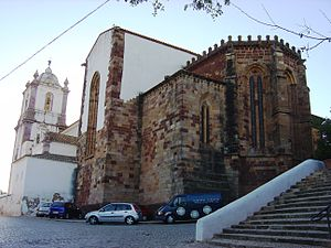Silves Cathedral - Gothic apse of Silves Cathedral.