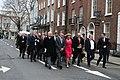 Sinn Féin MPs, MLAs & TDs en route to the Dáil100 event (32961996838).jpg