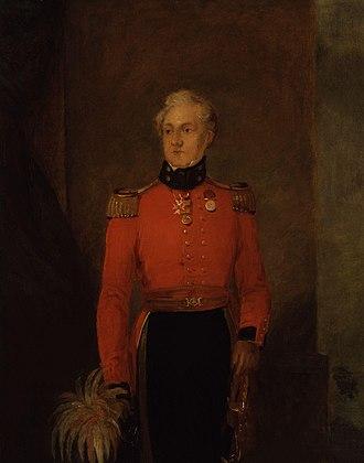 Charles Rowan - Portrait by William Salter