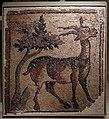 Siria del nord, frammento di mosaico pavimentale con stambecco presso un albero, V secolo dc.jpg