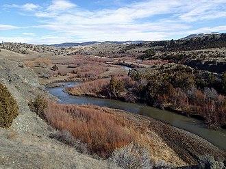 Sixteen Mile Creek (Montana) - Near Maudlow, Montana