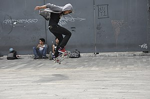 Nollie - Image: Skateboarding at Mexico City Flip 042