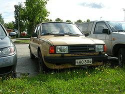Škoda 136 GLi, exportní provedení 1988 - 1990
