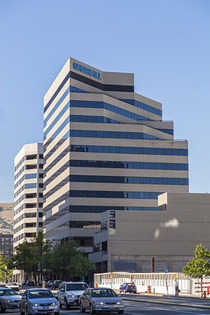 CH2M Hill - CH2M Hill offices at the Parkside Tower in Salt Lake City, Utah
