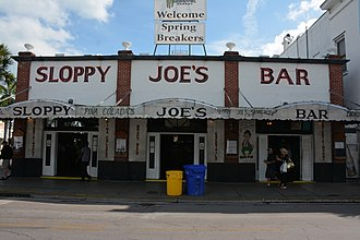 Sloppy Joe's - Image: Sloppy Joe's Bar, Key West, FL, US (05)