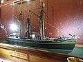 Slottsfjellsmuseet Museum Tønsberg Norway. Svend Foyn whaling pioneer Spes & Fides 1863 Whaler Steamer Harpoon cannon Ship model Hvalbåt Dampskip Harpunkanon Skipsmodell 2020-01-21 DSC02162.jpg