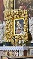 Slovénie, Ljubljana, Cathédrale Saint-Nicolas (Stolnica svetega Nikolaja), détail du tableau de Maria Pomagaj peinte par le peintre carniolien Léopold Layer, 1814 (46057646442).jpg