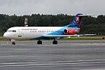 Slovak Government Flying Service, OM-BYB, Fokker F100 (37041502916).jpg