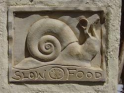A restaurant placard, Santorini, Greece
