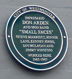 Don Arden - Carnaby Street plaque