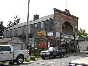 Snohomish, Washington - The Alcazar Opera House, built in 1892, later became an agricultural supply store and is now one of Snohomish's many antiques stores.