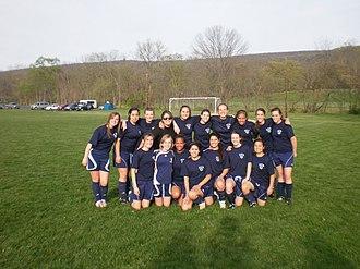 Shenandoah Valley Academy - Shenandoah Valley Academy Stars girls' soccer team (April 2010)