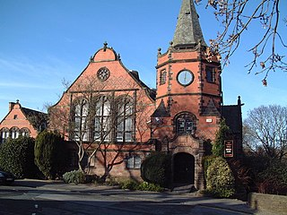 Lyceum, Port Sunlight building in Port Sunlight, Merseyside, England