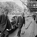 Socratesproces in Amsterdams gerechtsgebouw Oud-minister van den Brink en C Kl, Bestanddeelnr 912-6220.jpg