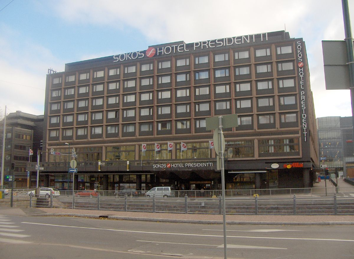 Sokos Hotel Presidentti Wikipedia