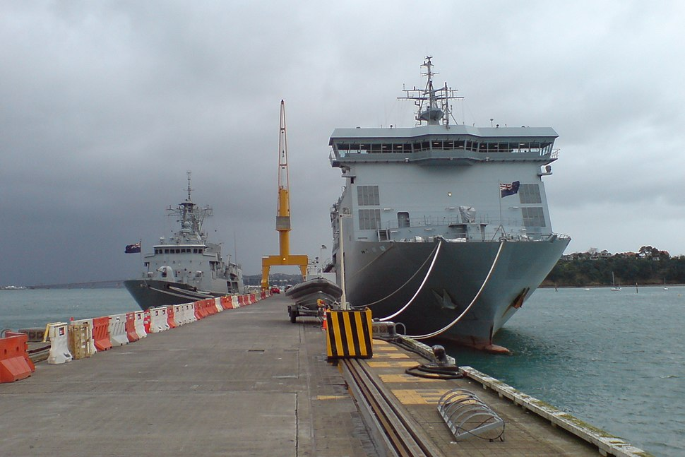 Some Of New Zealand Navy's Newest