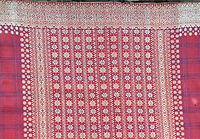 Songket sarong, metallic thread on silk Singaraja, 1920s, detail.jpg