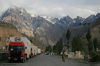 China–Pakistan Economic Corridor - China and Pakistan already conduct trade via the Karakoram Highway.