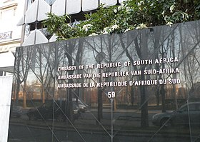 Ambassade d 39 afrique du sud en france wikip dia - Office du tourisme afrique du sud paris ...