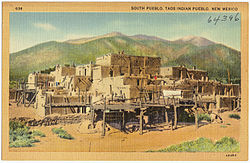 South Pueblo, Taos Indian Pueblo. New Mexico.jpg