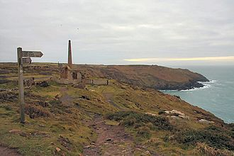 Botallack Mine - The South West Coast Path at Botallack
