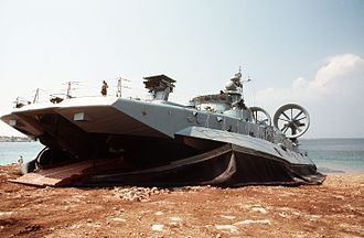 Air-cushioned landing craft - Zubr class LCAC