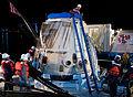 SpaceX CRS-2 capsule at docks.2.jpg