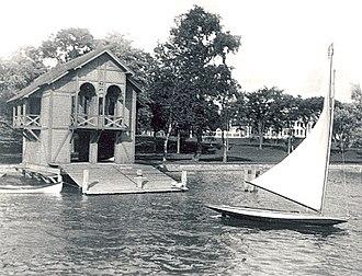 Elbridge G. Spaulding - Spaulding-Sidway Boathouse in 1903