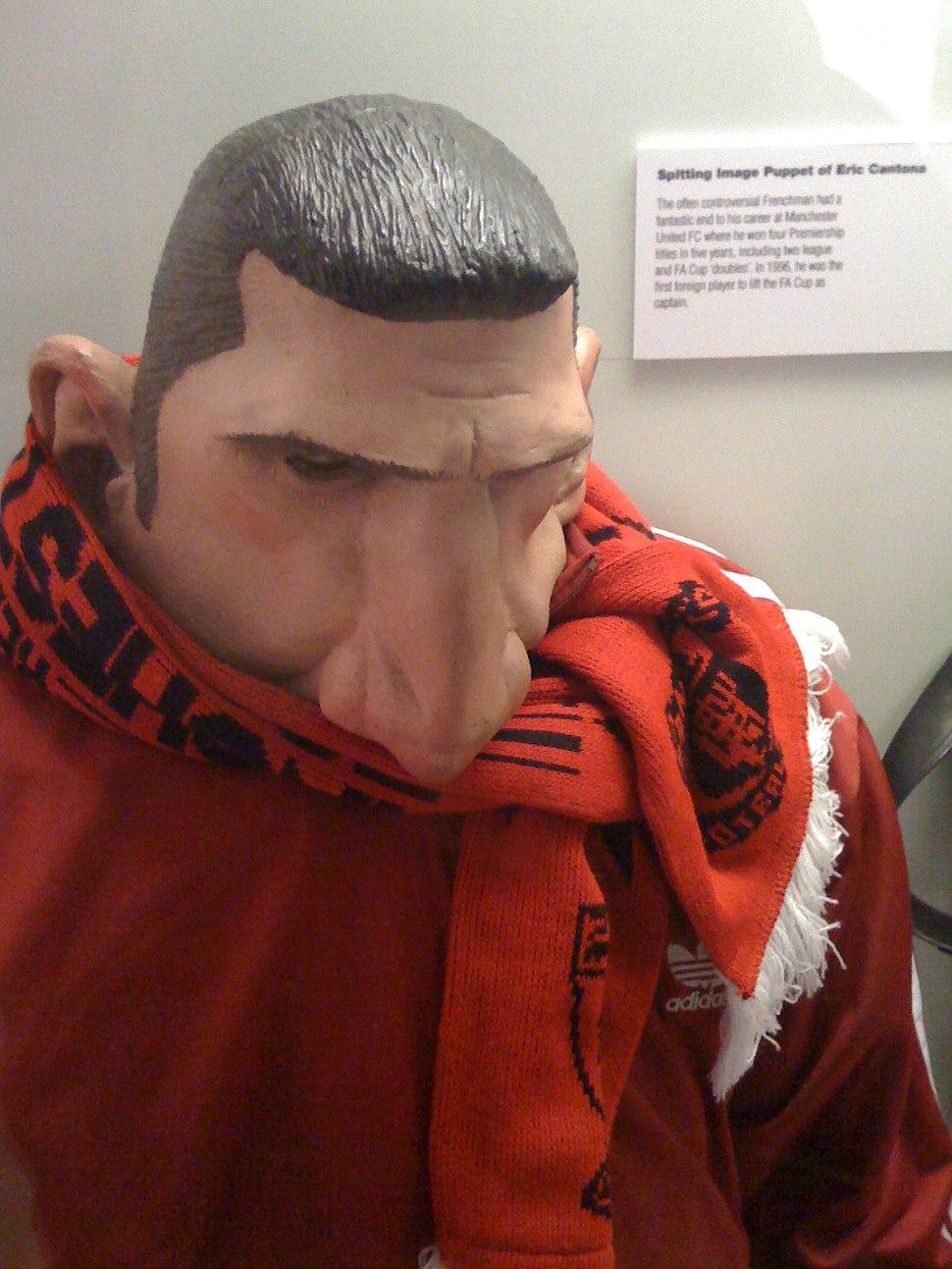 Spitting Image Puppet of Eric Cantona (2956625432)