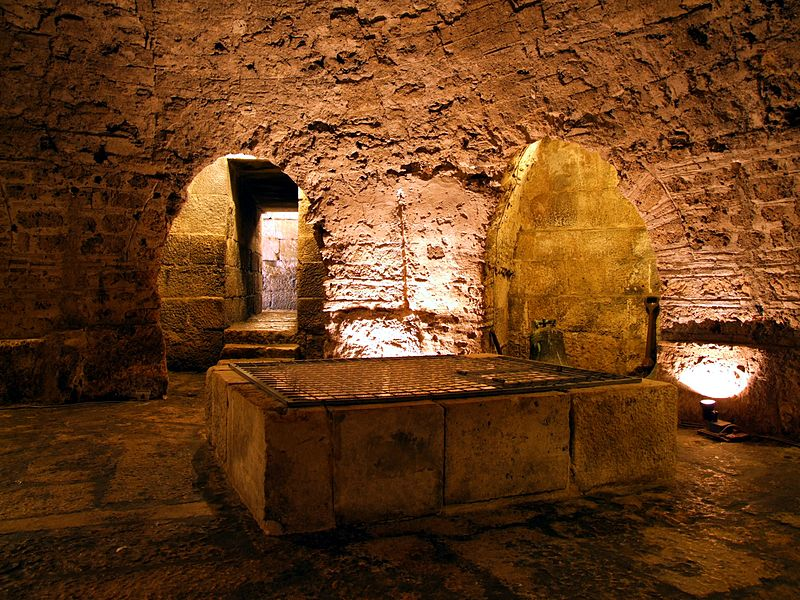 File:Split Cathedral - crypt of St. Lucy.jpg
